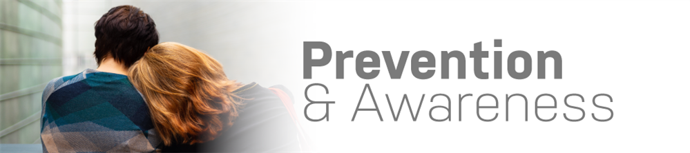 Prevention and Awareness banner image