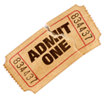 Admission Ticket PNG image
