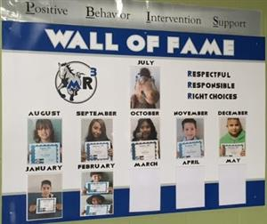 PBIS Wall of Fame