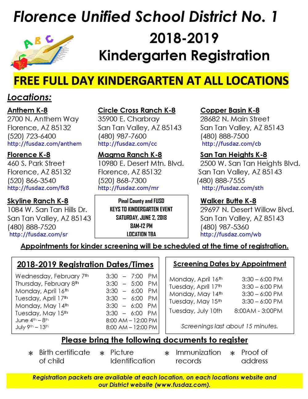 Kinder Screening Flyer