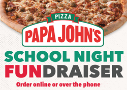 Papa John's School Night Fundraiser image