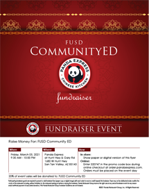 Panda Express Flyer icon