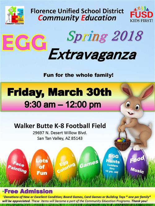 Egg Extravaganza Flyer