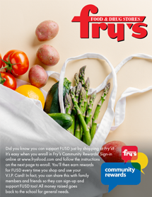 Fry's community rewards flyer image