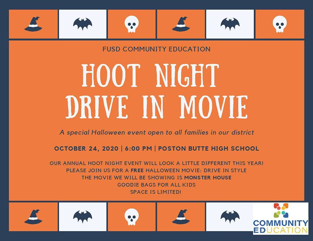 Hoot Night Info Image
