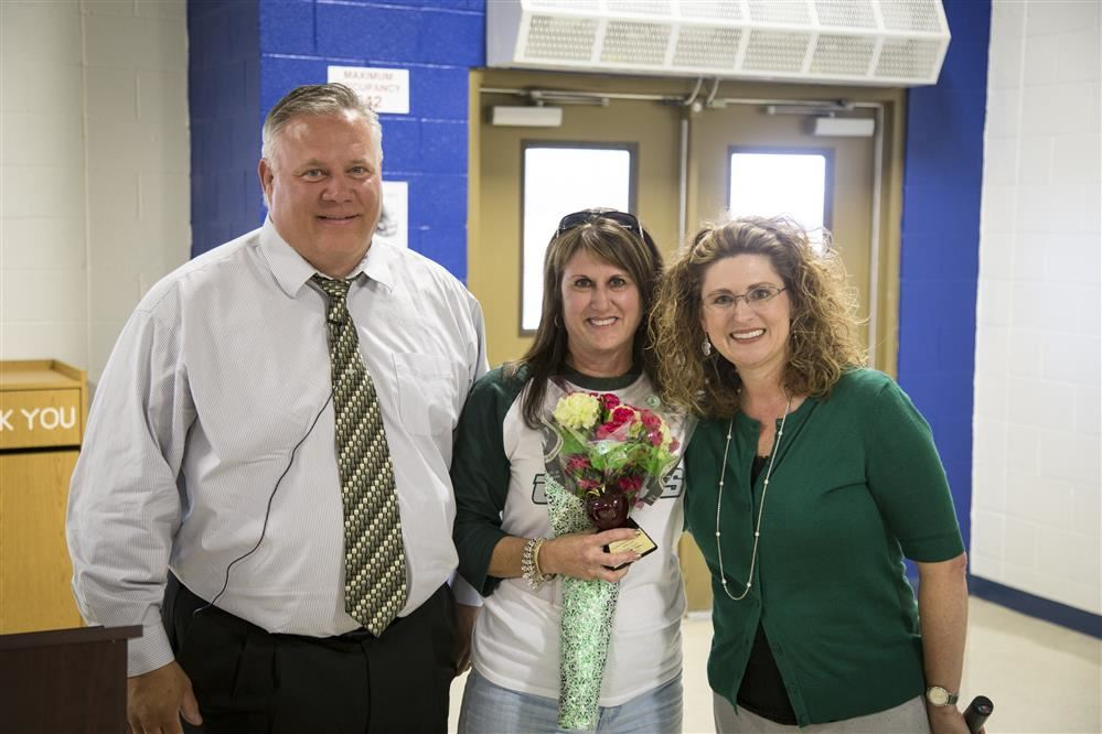 Teacher of the Month for April